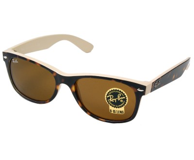 Óculos de Sol Ray Ban NEW WAYFARER 2132 6012 Tam: 52, 55