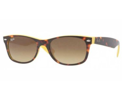 Óculos de Sol Ray Ban NEW WAYFARER 2132 6014/85 Tam: 52 e 55