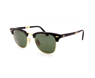 Óculos de Sol Ray Ban Clubmaster (Dobrável) RB 2176 901 Tam: 51