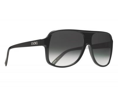Óculos de Sol Evoke EVK 04 BLACK SHINE SILVER GRAY GRADIENT