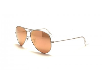 Óculos de Sol Ray Ban Aviador Espelhado Rosa  RB 3025 019/Z2