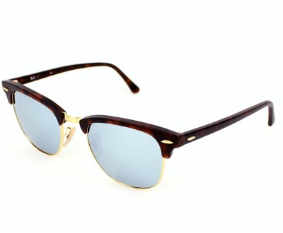 Óculos de Sol Ray Ban Clubmaster RB 3016 1145/30 (LENTES ESPELHADAS)