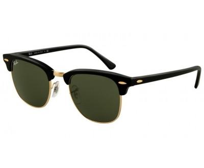 Óculos de sol Ray Ban Clubmaster RB 3016 W0365 51