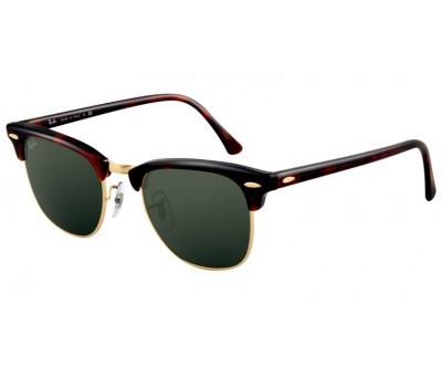Óculos de Sol Ray Ban Clubmaster RB 3016 W0366 Tam. 51