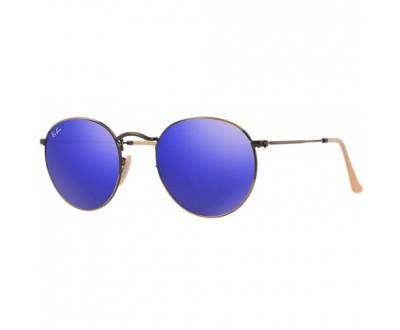 Óculos de Sol Ray Ban ROUND RB 3447 167/68 50 ESPELHADO