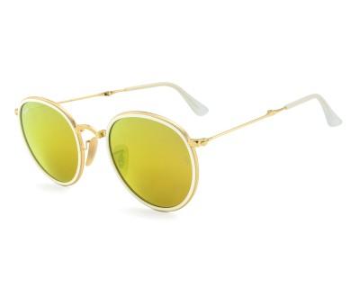 Óculos de Sol Ray Ban ROUND DOBRAVEL RB 3517 001/93 51 ESPELHADO