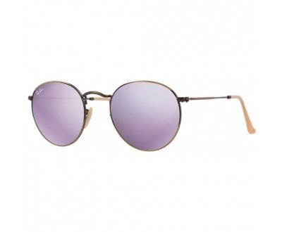 Óculos de Sol Ray Ban ROUND RB 3447 167/4K 50 ESPELHADO
