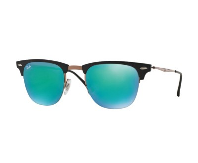 Óculos de Sol Ray Ban Clubmaster Light Ray RB 8056 176/3R 51 ESPELHADO