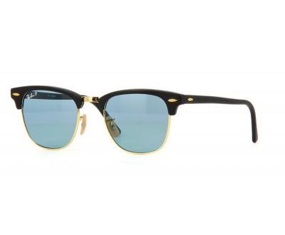 Óculos de Sol Ray Ban Clubmaster RB 3016 901S3R  tam: 49 e 51