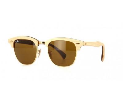 Óculos de Sol Ray Ban Clubmaster de Madeira RB 3016-M 1179 51