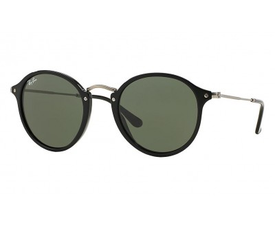 Óculos de Sol Ray Ban Round Fleck RB 2447 901 52