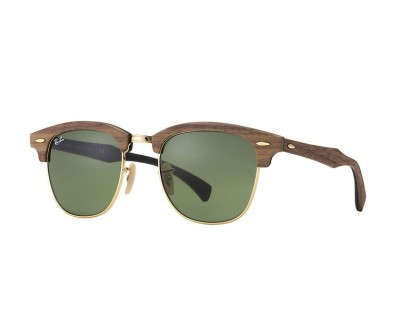 Óculos de Sol Ray Ban Clubmaster de Madeira RB 3016-M 1182/4E 51