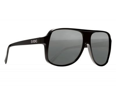 Óculos de SOl EVK 04 BLACK SHINE SILVER GRAY TOTAL