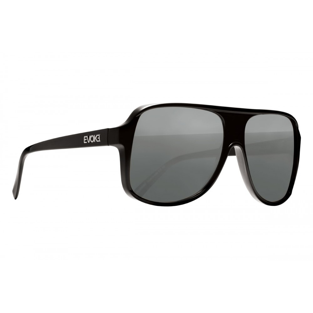 Óculos de SOl EVK 04 BLACK SHINE SILVER GRAY TOTAL Ver ampliado eee58775ed