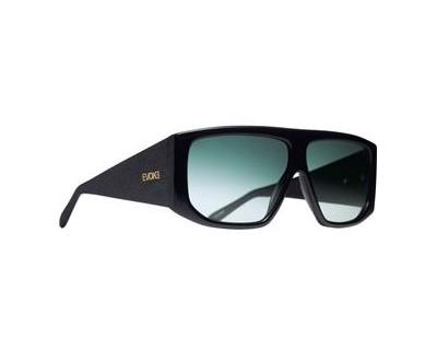 Óculos de Sol Evoke EVK 11 BLACK SHINE SILVER GREEN GRADIENT