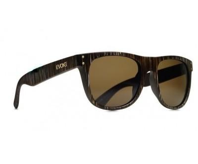 Óculos de Sol Evoke ON THE ROCKS 01 STRIPED BROWN GOLD BROWN TOTAL