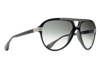 Óculos de Sol Evoke Plays Louder 08 BLACK SHINE LASER GRAY GRADIENT