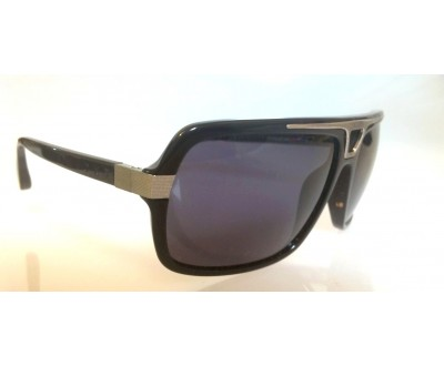 Óculos de Sol Evoke Plays Louder 09 BLACK SHINE LASER GRAY GRADIENT