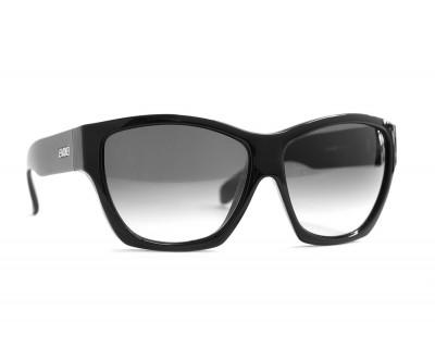 Óculos de Sol Evoke Strata Black Shine Silver Gray Gradient