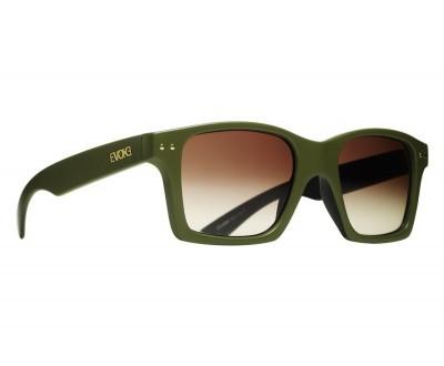 Óculos de Sol Evoke TRIGGER BLACK ARMY GOLD BROWN GRADIENT