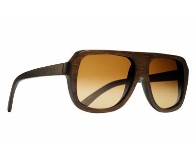 Óculos de Sol Evoke WOOD SERIES 01 DARK LASER BROWN GRADIENT