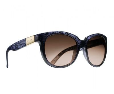 Óculos de Sol Evoke MYSTIQUE DARK LACE GOLD BROW MIRROR