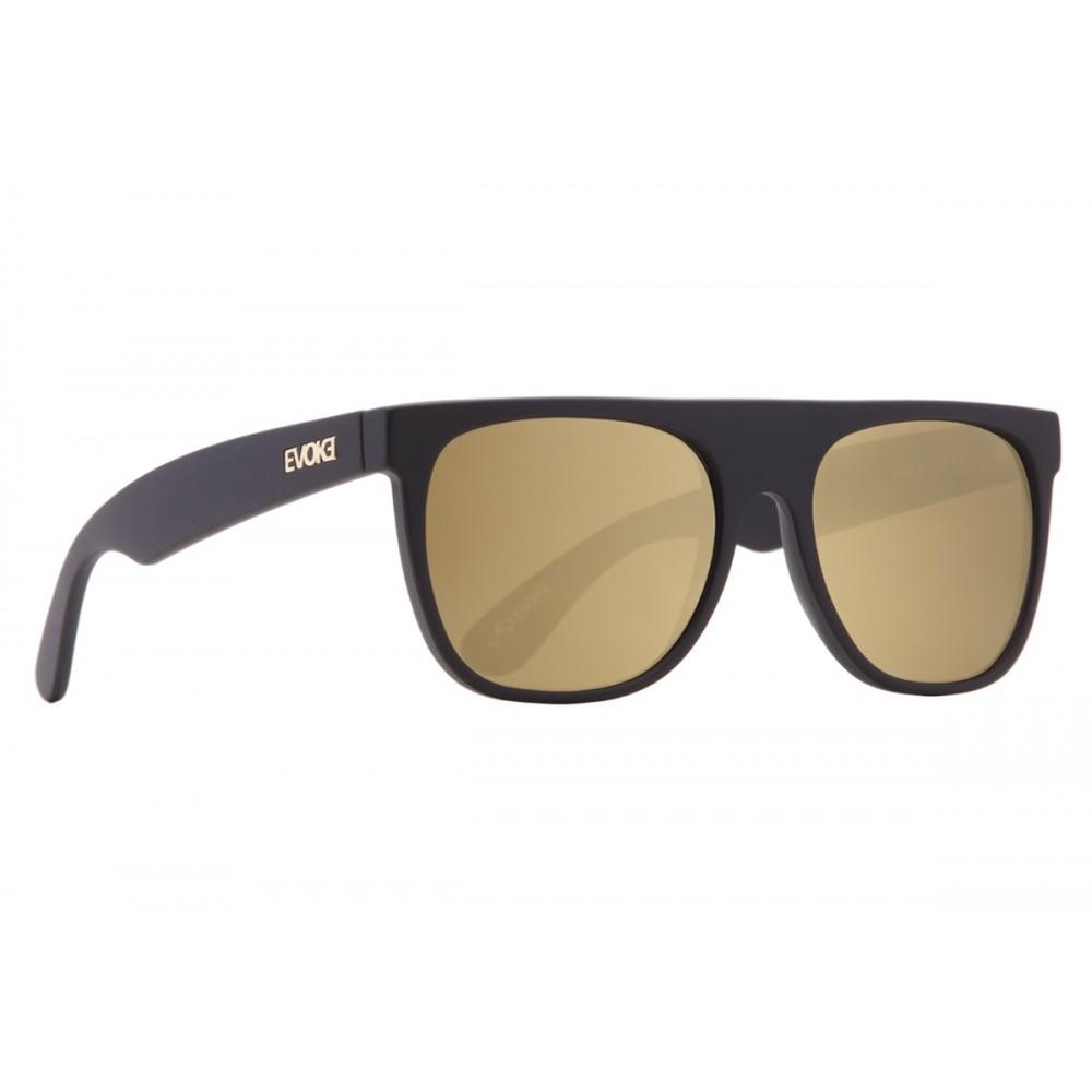 Óculos de Sol Evoke HAZE Black Matte Gold Mirror - Óticas Online e875d1843f