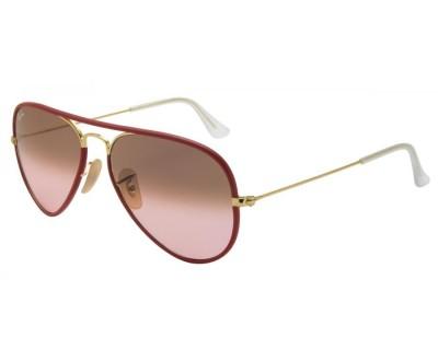 Óculos de Sol Ray Ban Aviador RB3025JM 001/X3 Tam: 55 e 58