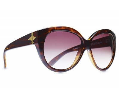 Óculos de sol  EVOKE DEJA VU CAT STYLE TURTLE GOLD BROWN GRADIENT