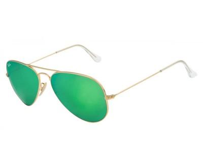 Óculos de Sol Ray Ban Aviador RB 3025 112/19  AVIATOR LARGE METAL Tam: 55, 58 e 62 ESPELHADO
