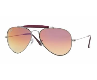 Óculos de Sol Ray Ban Aviador Caçador RB3407 004/70 TAM:58