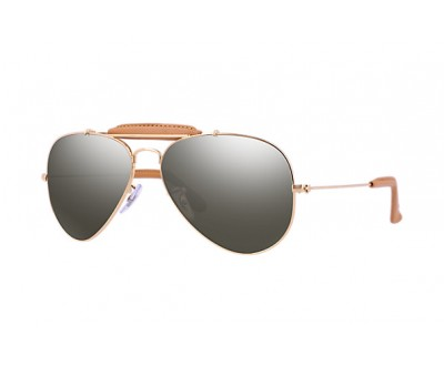 Óculos de Sol Ray Ban Aviador RB 3422 Craft Caçador 001/M9 58 POLARIZADO