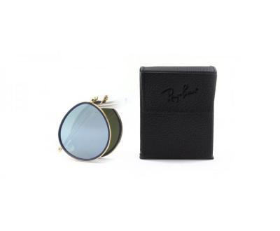 Óculos de Sol Ray Ban ROUND DOBRAVEL RB 3517 001/30 51 ESPELHADO