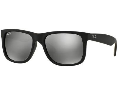 Óculos de Sol Ray Ban Justin RB 4165 622/6G 55 (LENTE ESPELHADA PRATA)