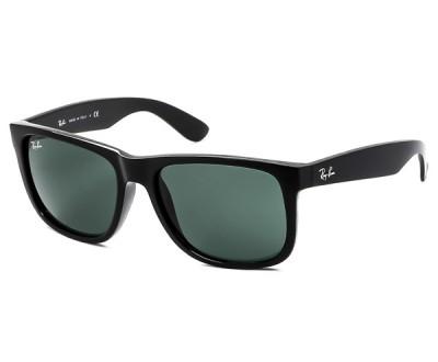 Óculos de Sol Ray Ban Justin RB 4165 601/71 55 (PRETO BRILHO)