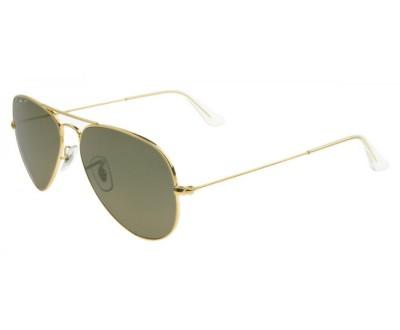 Óculos de Sol Ray Ban Aviador RB 3025 001/58 TAM: 55, 58 e 62 Lentes Polarizado