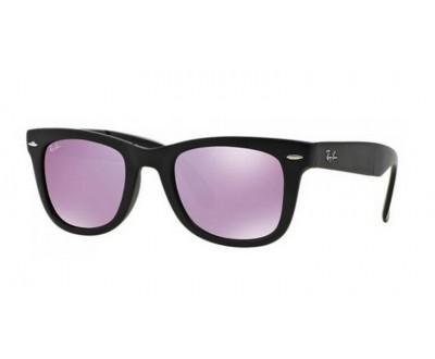 Óculos de Sol Ray ban Wayfarer Folding RB 4105 601S4K 50 DOBRAVEL ESPELHADO