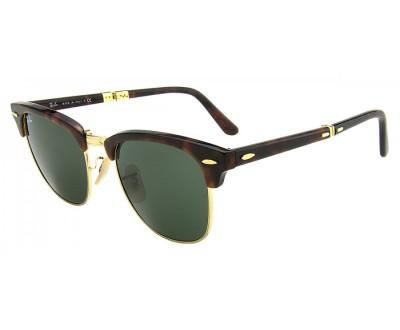 Óculos de Sol Ray Ban Clubmaster (Dobrável) RB 2176 990 Tam: 51