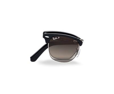 Óculos de Sol Ray Ban Clubmaster (Dobrável) RB 2176 901SM8 POLARIZADO Tam: 51