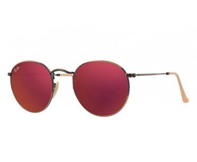 Óculos de Sol Ray Ban ROUND RB 3447 167/2K 50 ESPELHADO