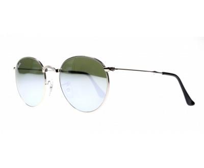 Óculos de Sol Ray Ban Round Dobrável RB 3532 003/30 50 ESPELHADO