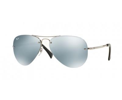 Óculos de Sol Ray Ban Aviador RB 3449 003/30 59 Espelhado
