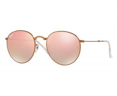 Óculos de Sol Ray Ban Round Dobrável RB 3532 198/7Y 53 ESPELHADO