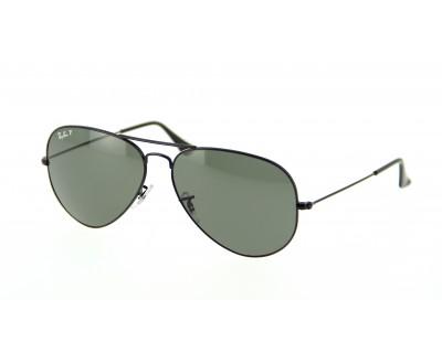 Óculos de Sol Ray Ban Aviador RB 3025 002/58 TAM: 55, 58 e 62 Polarizado