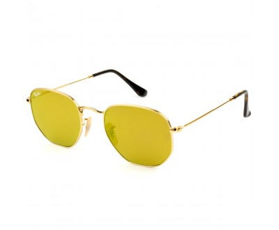 Óculos de Sol Ray Ban Hexagonal RB 3548N 001/93 51