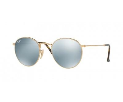 Óculos de Sol Ray Ban ROUND RB 3447N 001/30 50 ESPELHADO