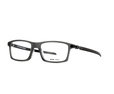 Armação Oakley OX8092-0253 Pitchman SATIN GREY SMOKE