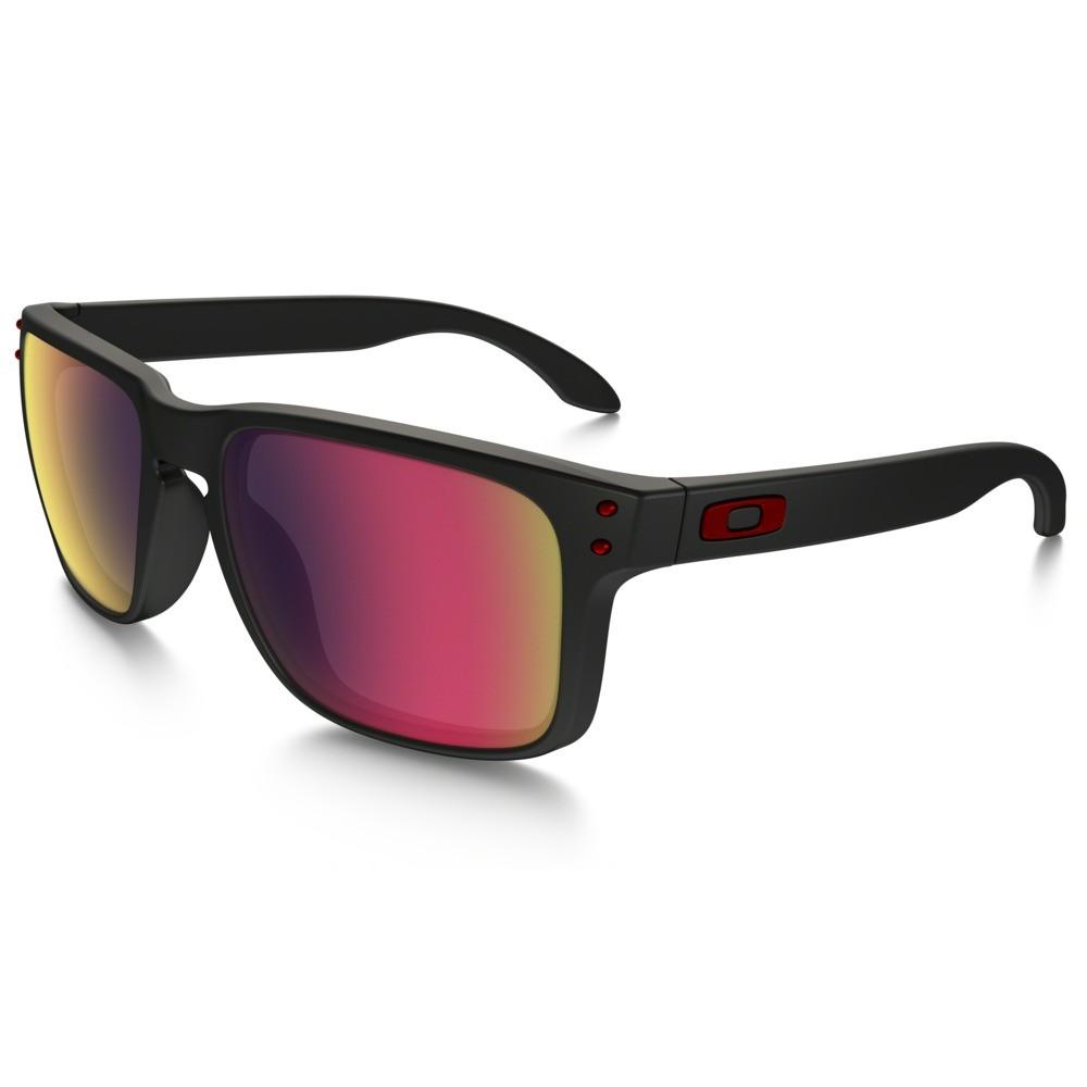 afb90eafbe8f7 Óculos de Sol Oakley HOLBROOK OO9102-3655 Matte Black Positive Red Iridium  Ver ampliado. Anterior. Próximo