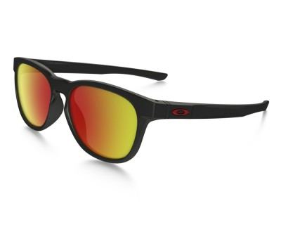 Óculos de Sol Oakley OO9315-0955 Stringer Matte Black/Ruby Iridium