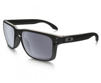 Óculos de Sol Oakley HOLBROOK OO9102-02 Polished Black W/Grey Polarized